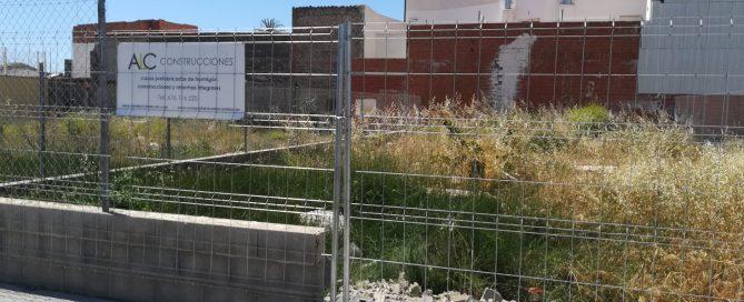 Empezamos obra de vivienda en Sueca (Valencia)
